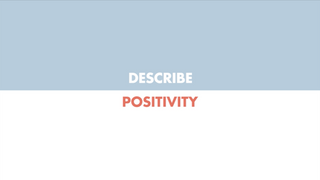 Power of JA - Describe Positivity