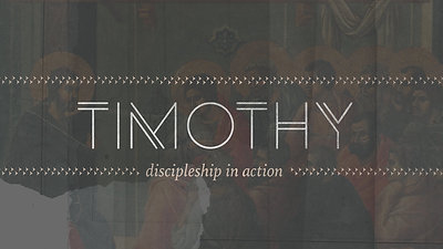 A Disciple's Work