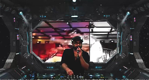 praveen Nair live in space