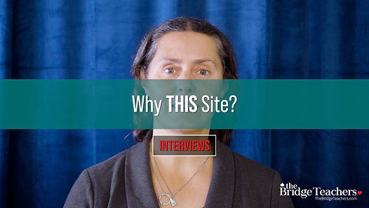 Why This Site?