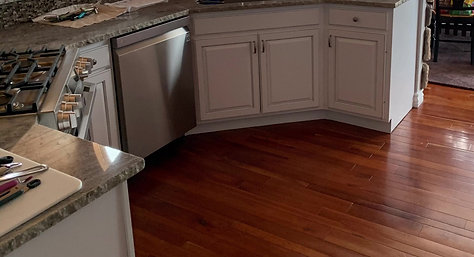 Glazed Kitchen Cabinets Project