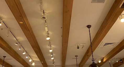 Retail Store ceiling repair & painting Project