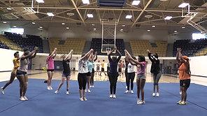 Cheer Sports Feature (Ashly McNally, Dairys Montes De Oca)