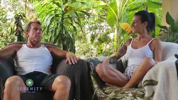 Karen talks with Geoff on Group Meditation