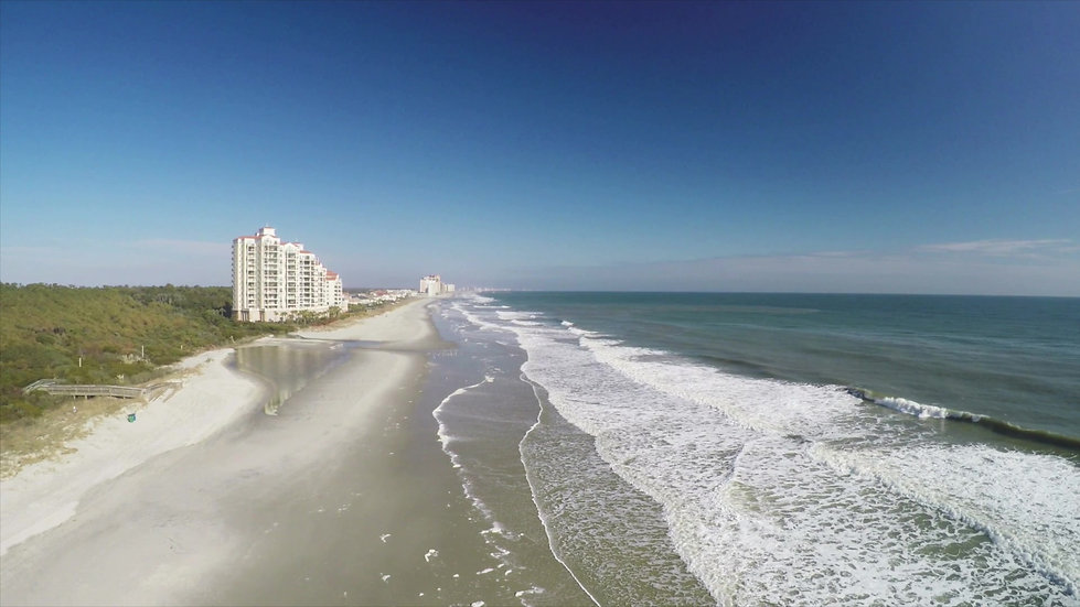 Beautiful Oceanfront of Myrtle Beach