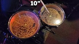 """10"""" Pancake Popcorn FX Drum"""