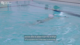 Use a range of swim strokes