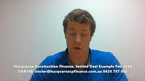 HCF Settled Deal Example