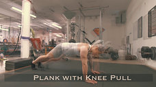 Plank with Knee Pull
