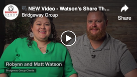 NEW Video - Watson's Share Their Story!