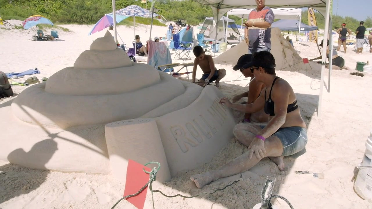 Bermuda Sandcastle Competition