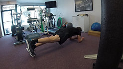 Plank with Hip Extension