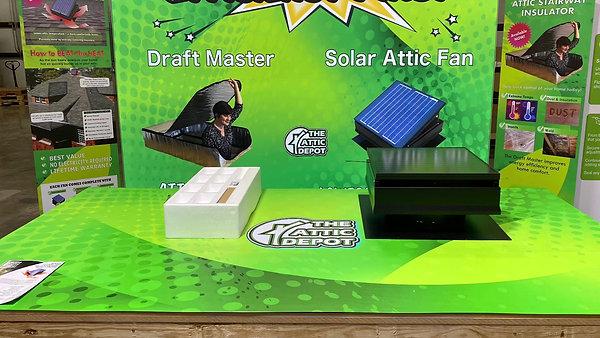 Solar Fan - Installing