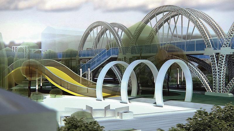 Проект Спортивно-рекреационного парка