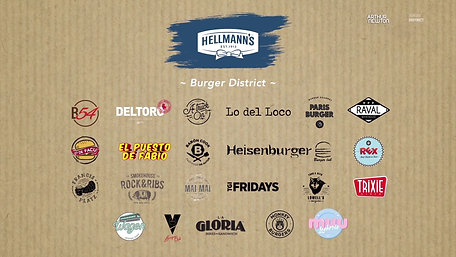 HELLMANN´S: Burger District.