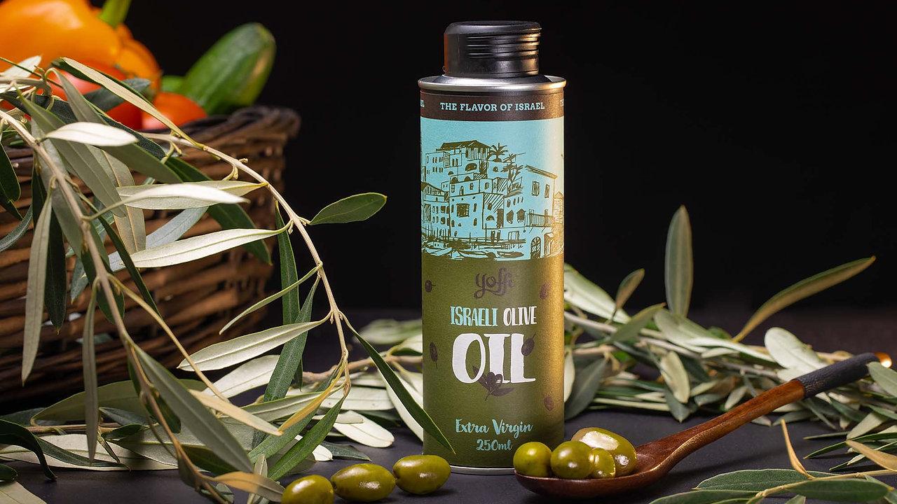 """Oil olives """"Yoffi"""""""