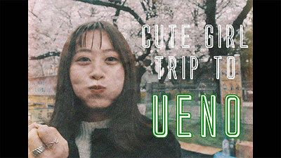 Cute Girl Trip to Ueno Cinematic Vlog