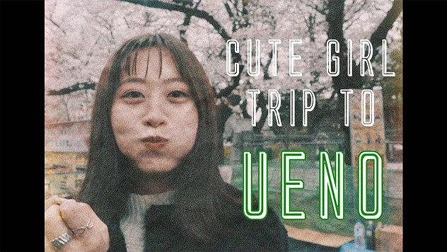 Cute Girl Trip to Ueno Cinematic Vlog