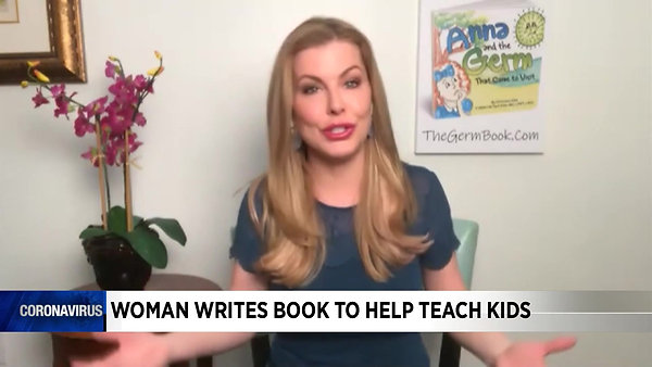 Christianne Klein and Helene Van Sant-Klein on their new book, 'Anna and the germ that came to visit' Video - WSLS News