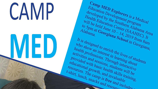 2020 Camp MED Explorers' Health Career Videos