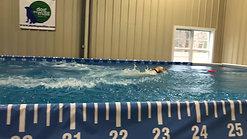 Junior Handler Dock Diving competition