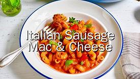 Italian Sausage Mac and Cheese