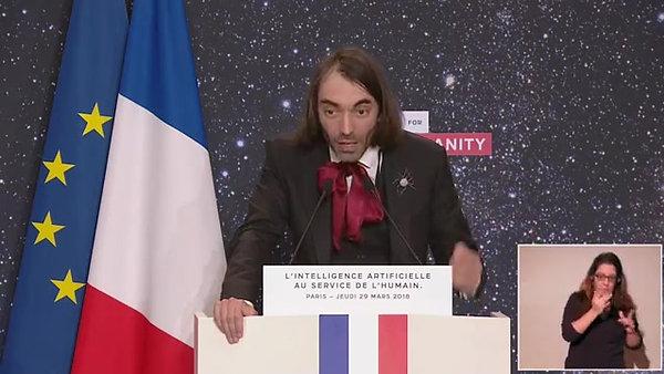 La stratégie française sur l'Intelligence Artificielle - Cédric Villani