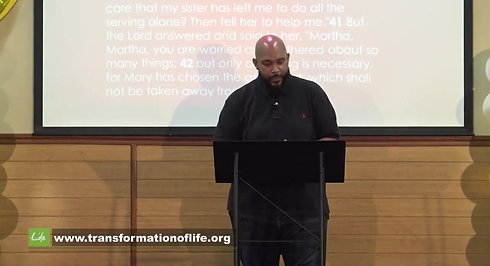 Transformation Of Life Sunday Anniversary Worship Service