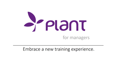PLANT for managers
