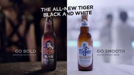 Tiger Beer Black & White