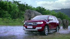 Ford Everest Rush Hour
