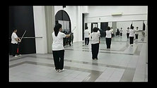 Siglap CC Practice 32-Sword Form 实乞纳32太极剑