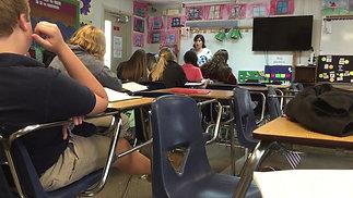 Mrs. Perez teaches Binary Codes- 9th and 10th Grade