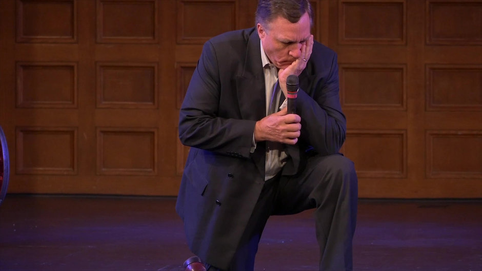 At the height of the football debate about athletes kneeling during the National Anthem, Dr. Parrott responded to that moment with an unplanned prayer during a University Chapel service.  The video was viewed over 50,000 times the following month.