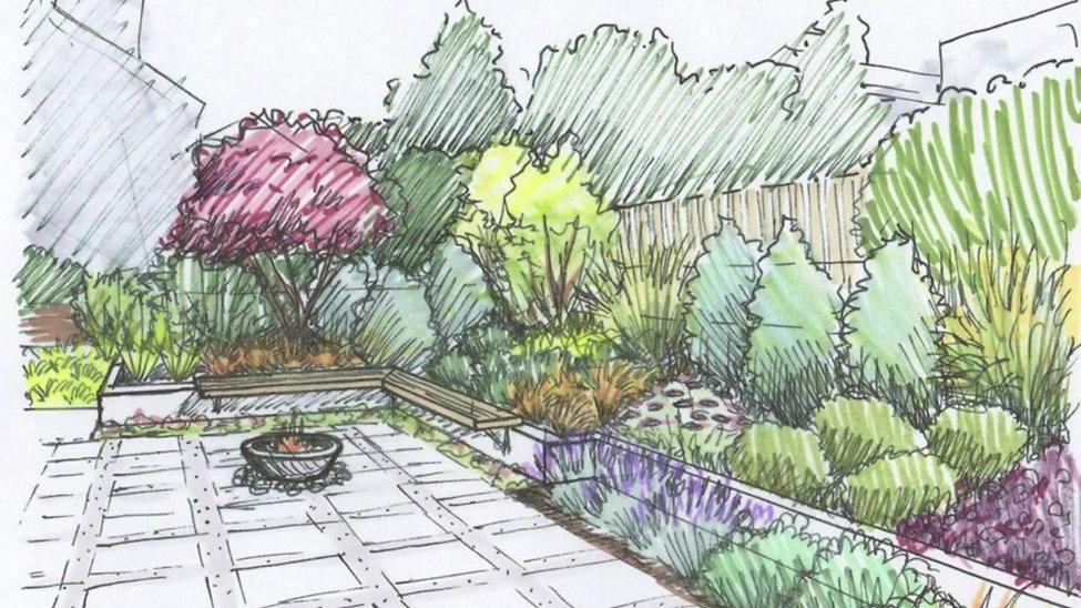 Garden Design Drawings