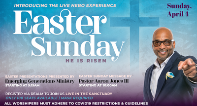 Resurrection Sunday at Mt. Nebo