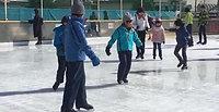 スケート訓練