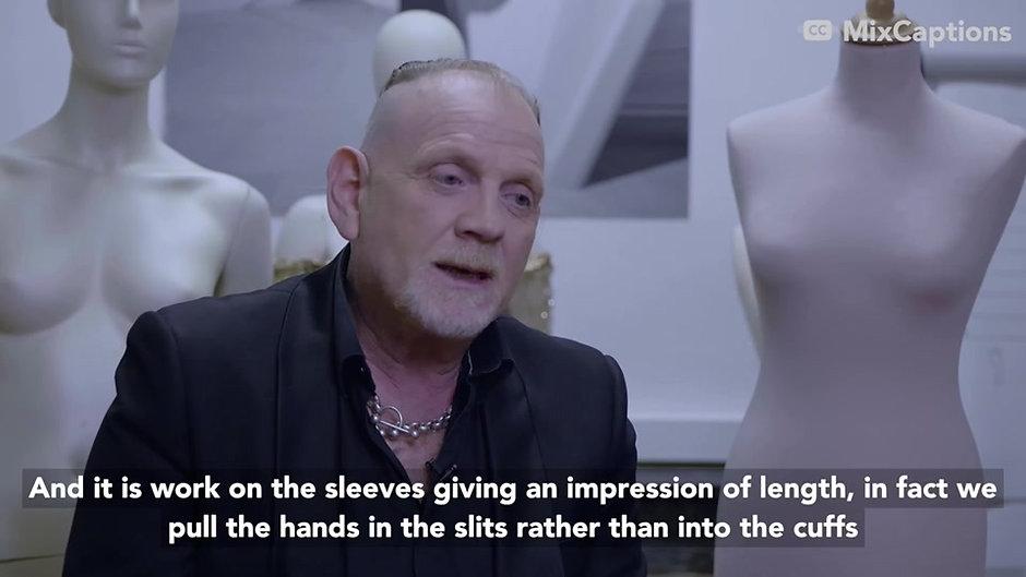 Denis Durand parle de son parcours de couturier et de son académie
