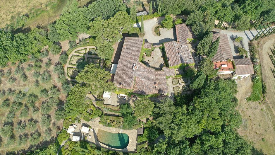 Villa Ref. 380 Panzano in Chianti (Toskana) Video 1