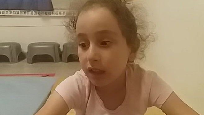ילדה מדברת על הנחיה, תיעוד ומשוב