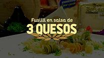 Pasta en salsa de 3 quesos - Président Ecuador