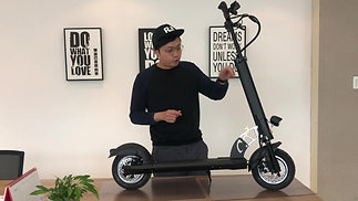 MAX-E004 Maxpeed electric scooter review