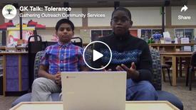 GK Talk: Tolerance