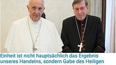 022 - Q Posts Papst und Israel - 25.5. - 53 Jahre Eucharisticum Mysterium