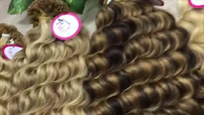 I-tip (Micro-ring) Hair Extensions Vietnamese Supplier