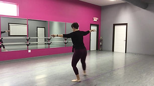 Ballet Week 5 (part 2) With Miss Lisa