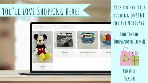 Winter & Holiday 2GO Virtual Resale Pop-Up