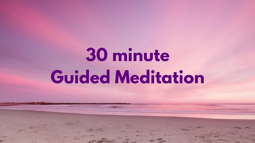 30 minute guided meditation