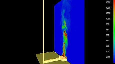 Heptane Pool Fire