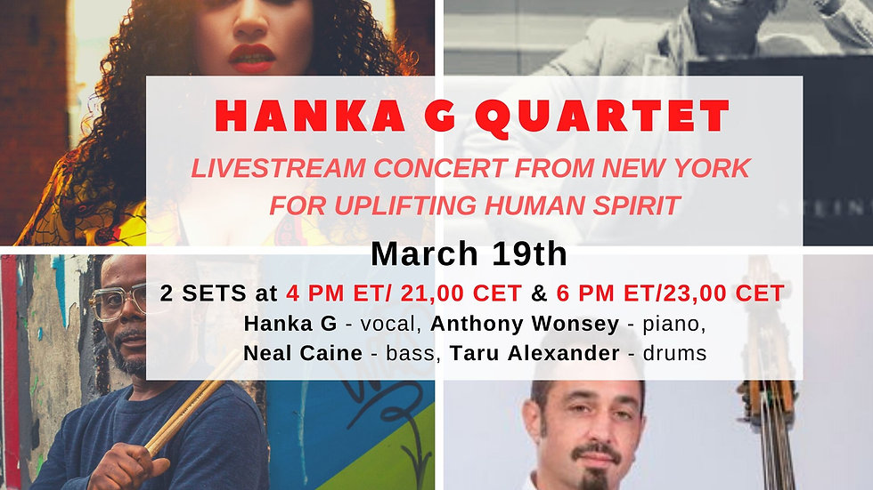 HANKA G LIVESTREAM CHANNEL